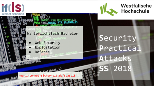 Teaserbild: Security Practical Attacks SS 2018